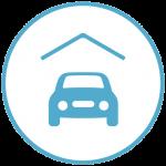 Parkeer je auto droog en veilig op een plek naar keuze in de parkeergarage